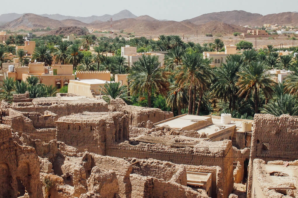 Muscat, Oman road trip