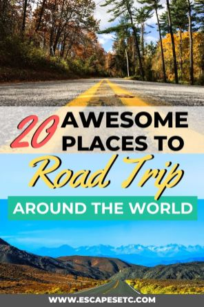 Looking for inspiration for your next budget travel adventure? What about a road trip? Click here to learn more about 20 amazing routes to road trip this year so you can travel more on a budget. #roadtrips #bestroadtrips #amazingroutes #roadtripitineraries