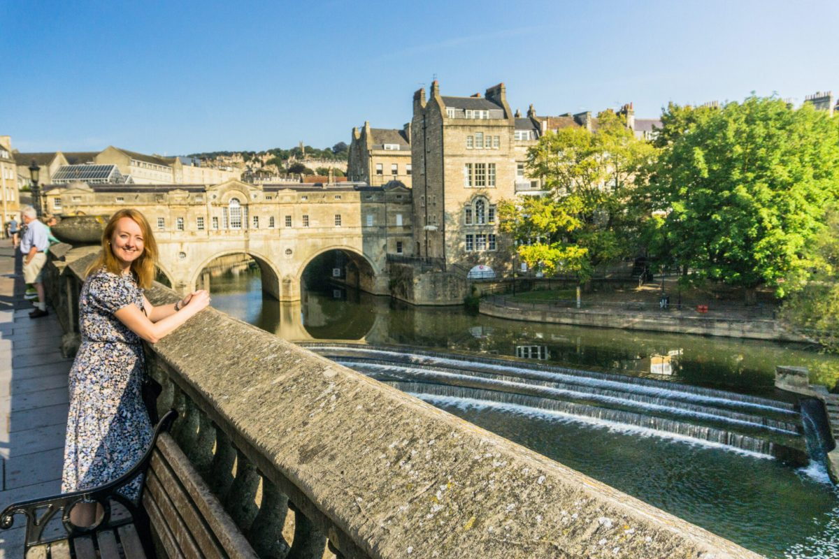 The Pulteney Bridge, Bath UK