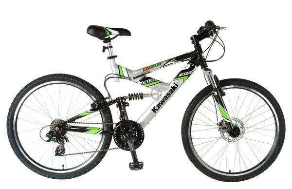 Kawasaki Dual Suspension Bike