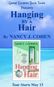 HANGING BY A HAIR  SMALL BANNER