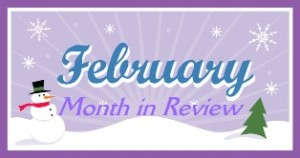 february month in review
