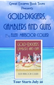 GOLD-DIGGERS GAMBLERS GUNS SMALL BANNER