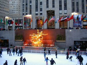 Rock Center Photo courtesy Wiki Commons