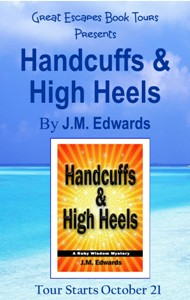 HANDCUFFS AND HIGH HEELS SMALL BANNER
