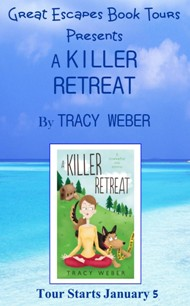 A KILLER RETREAT SMALL BANNER