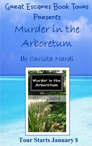 murder in the arboretum SMALL BANNER