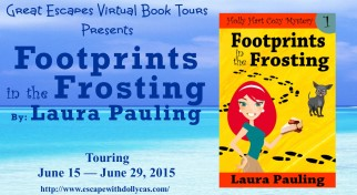 footprints in the frosting large banner322