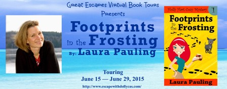 footprints in the frosting large banner448