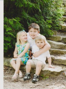 Kaden, Natalie and Remington