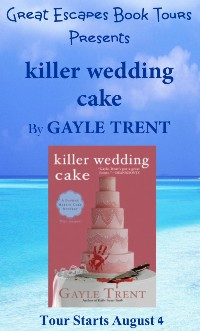 KILLER WEDDING CAKE SMALL BANNER