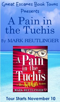 PAIN IN THE TUCHIS SMALL BANNER
