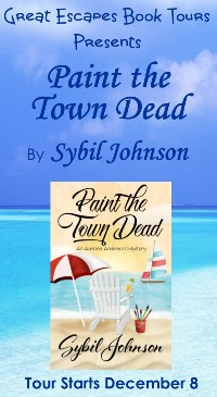 PAINT THE TOWN DEAD SMALL BANNER