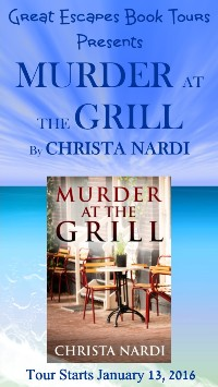 MURDER AT THE GRILL small banner
