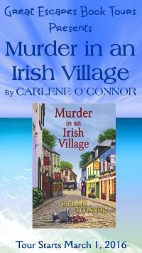 MURDER IN AN IRISH VILLAGE small banner