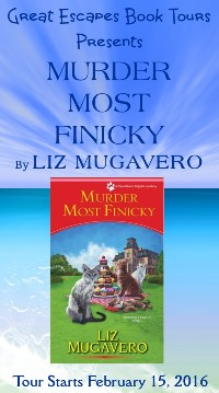 MURDER MOST FINICKY small banner