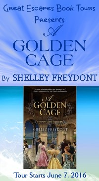 GOLDEN CAGE small banner