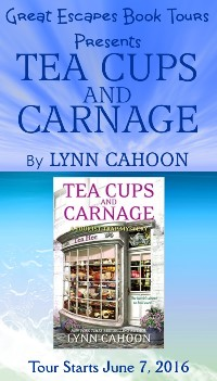 TEA CUPS AND CARNAGE SMALL BANNER