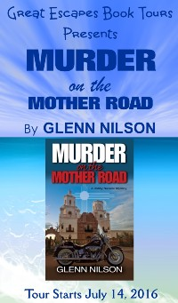 MURDER ON THE MOTHER ROAD small banner