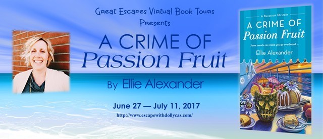 my reading journeys a crime of passion fruit elle alexander book review interview giveaway. Black Bedroom Furniture Sets. Home Design Ideas
