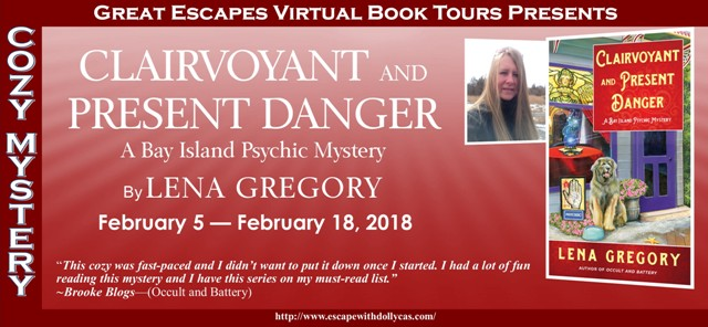 Clairvoyant and Present Danger (A Bay Island Psychic Mystery) by