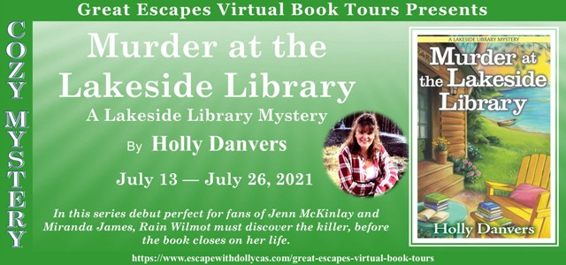 Murder at the Lakeside Library Banner