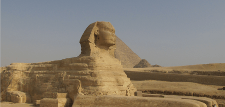Holidays to Cairo - the Pyramids and Sphinx at Giza