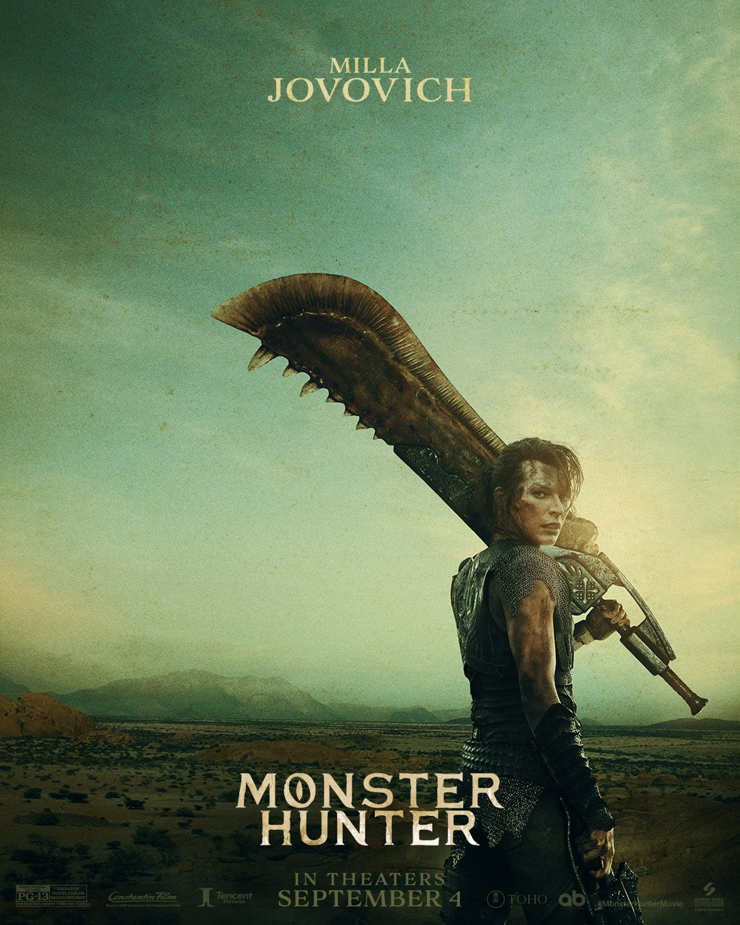monster hunter movie posters feature no