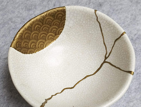 Kintsugi Workshop: Simple Gold Repair Class