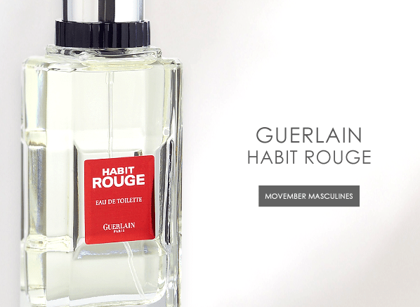 Movember Masculines Part 1: Habit Rouge by Guerlain