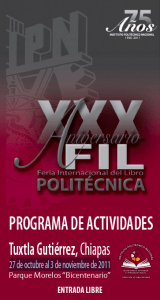 Feria Internacional del Libro-Politécnica 2011
