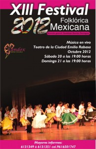 13 Festival de Danza Folklórica Mexicana Candox