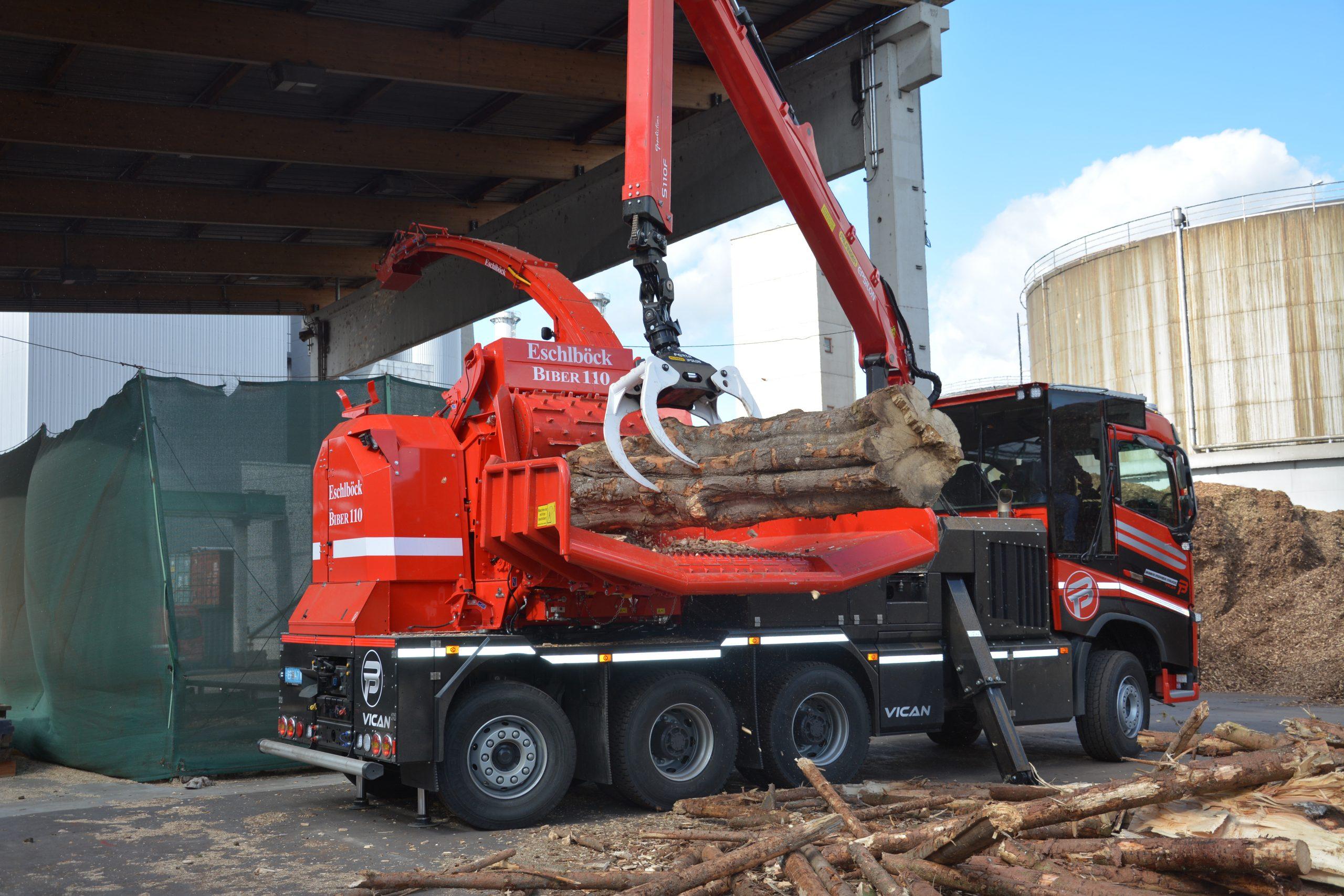 Eschlböck Biber 110 BPT Holzhackmaschine