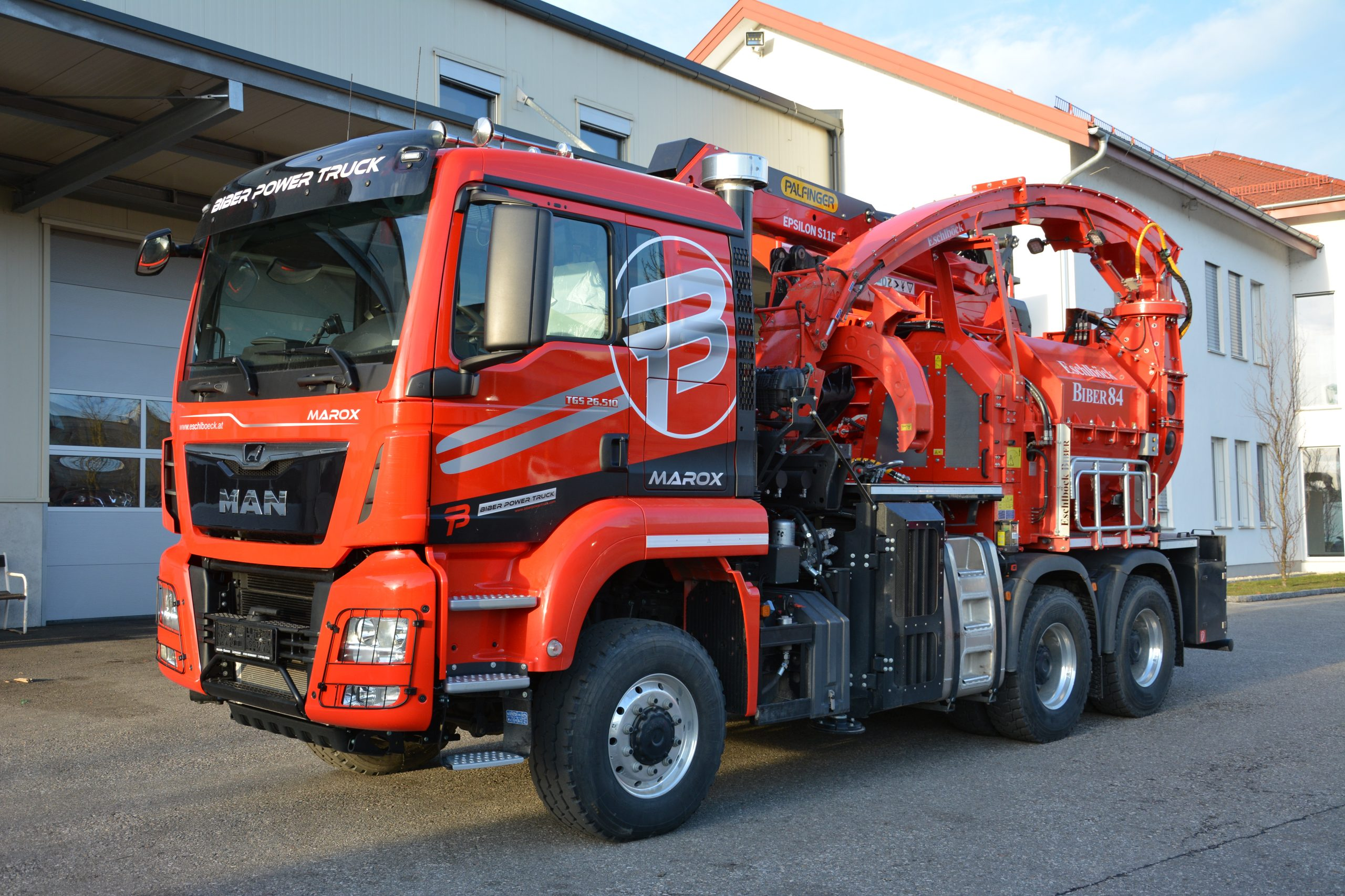 Eschlböck Biber 84 BPT Holzhackmaschine
