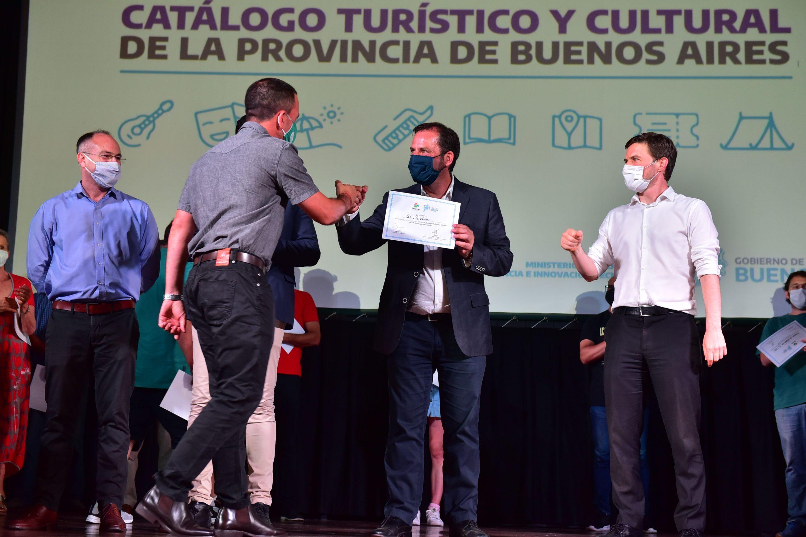 Escobar: Fomento al turismo y a la cultura