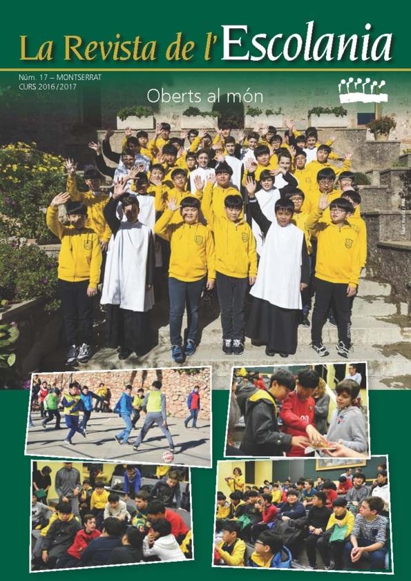 Revista de l'Escolania de Montserrat, 17