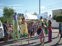 Cortejo de Homenagem ao Dia do Teatro e do Circo