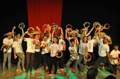 Culminância do Curso de Iniciação às Artes Circenses 2016.02