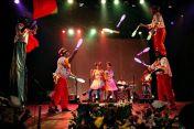 Participação da Trupe Circus no show das Fadas Magrinhas.