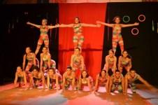 Culminância do Curso de Iniciação às Artes Circenses 2012