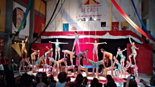 Culminância do Curso de Iniciação às Artes Circenses 2014.2