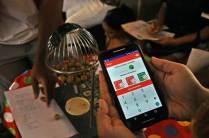 O aplicativo que nosso parceiro Nicollas Freitas desenvolveu para nosso Bingo Circense.