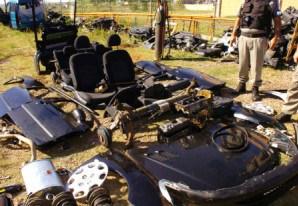 PM descobre desmanche ilegal de veículos na Zona Norte de SP