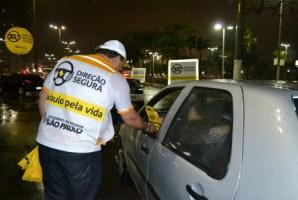 Direção Segura autua 101 motoristas em seis cidades paulistas.