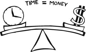 tempo dinheiro