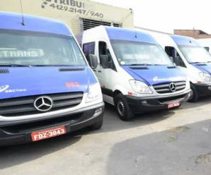 Transporte público coletivo de São Bernardo do Campo começa a operar com vans