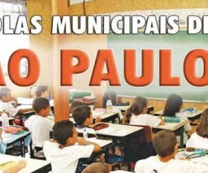 RELAÇÃO COMPLETA DE ESCOLAS MUNICIPAIS DA CIDADE DE SÃO PAULO COM ENDEREÇO E TELEFONE