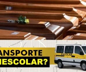Vans escolares passam a fazer transporte de corpos de vítimas da covid-19 em SP