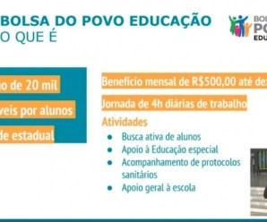 Governo de SP pagará R$ 500 para familiares de alunos da rede estadual trabalharem nas escolas