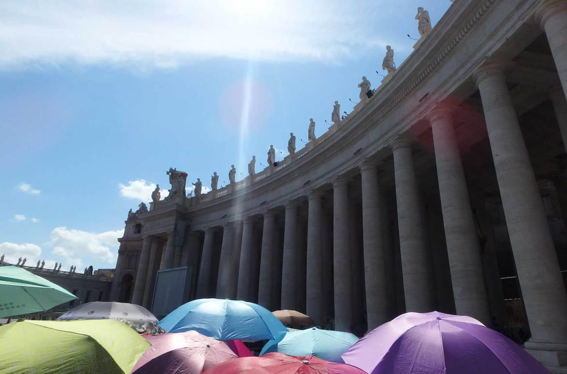 Fotos de viagem - Piazza San Pedro, Roma (Itália)